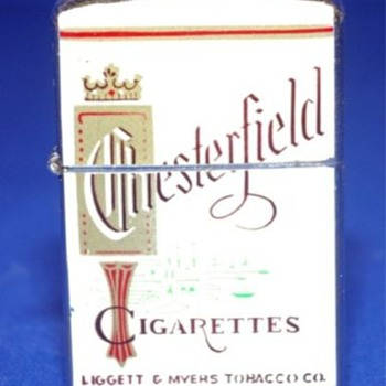 ~~Chesterfield Cigarrette Lighter~~ - Tobacciana