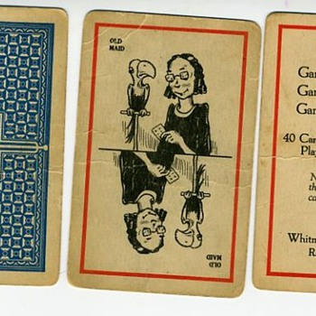 Vintage OLD MAID CARDS - Can someone tell age? - Cards