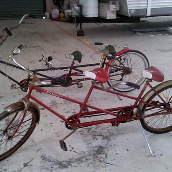 58&#039; and 64&#039; Schwinn Tandems