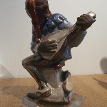 ANZENGRUBER JESTER / TILL EULENSPIEGEL! - Art Pottery