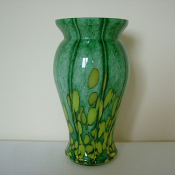 Czech Art Deco Welz Vase