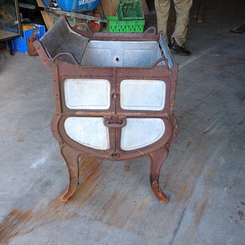 cast iron washig machine maybe