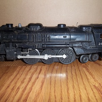 Lionel Trains Collection- Lionel 027 #2016 Locomotive Steam Engine - Model Trains