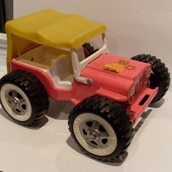 Franken-Jeep Mini Tonka with Mighty Tonka wheel set?