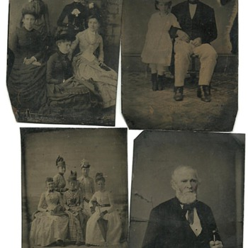 old tin photos