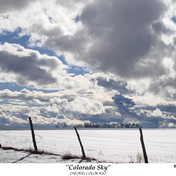 """COLORADO SKY"":   OXFORD, COLORADO"