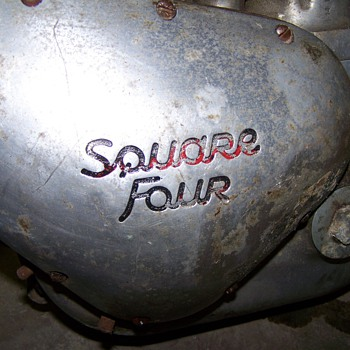 1958 ariel square four - Motorcycles