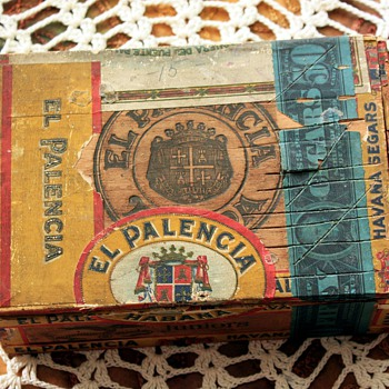 Old cigar box - Palencia