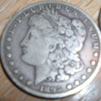 Morgan Silver Dollars 1895-1897
