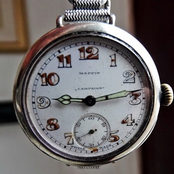 US Army Champions 1918 Anglo American Baseball Leaque - Wristwatches
