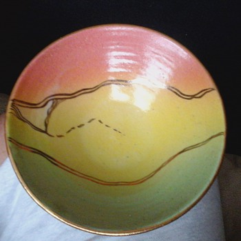studio bowl - Art Pottery