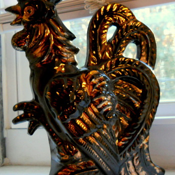 Rooster Wall Pocket - Art Pottery