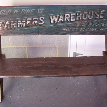 Tobacco Bench - Furniture
