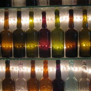 OLD WHISKEY BOTTLES - Bottles