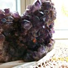 "Brazilan Amethyst Dark Purple 8"" Tall"