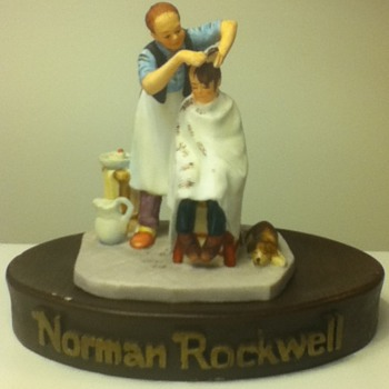 Norman Rockwell Collectible by Gorham - Art Pottery