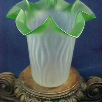 Rindskopf RIPPLE Art Glass Shade - Art Glass