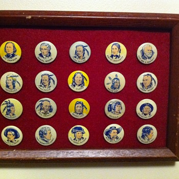 Crackerjack pinback premiums - Medals Pins and Badges