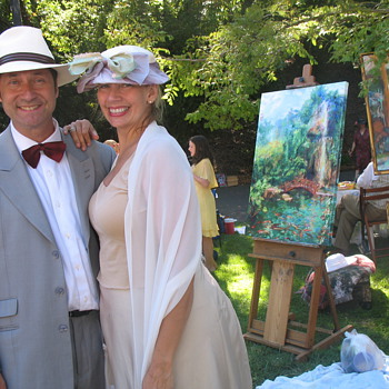 Gatsby Summer Afternoon  progam art painter