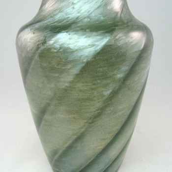 Steel Gray Loetz Melusin Vase  - Art Glass