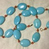 Natural Turquoise? Marked 14k