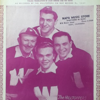 &quot;From The Vine Came The Grape&quot; Sheet Music - Paper