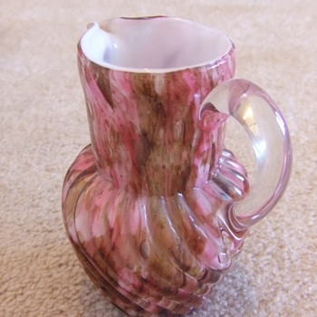 Another Victorian Art Glass cream pitcher
