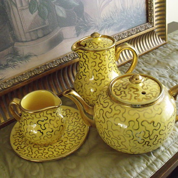 Sudlow Burslem Teaset - Art Deco