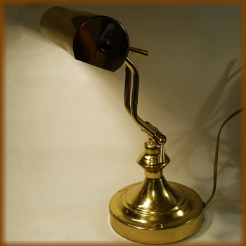 ( Another ) Vintage Brass Desk Lamp  - Lamps