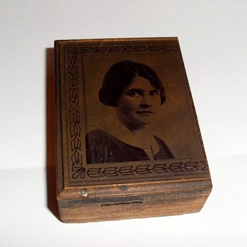 Copper Plate Printers Block - Portrait
