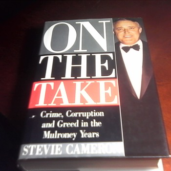 Signed First Edition Stevie Cameron