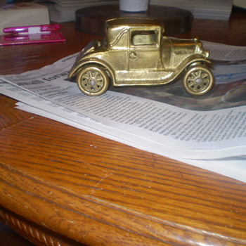 1929 Ford Model A kids toy - Model Cars