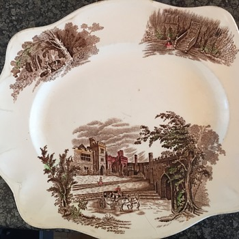 Johnson Bros China Plates