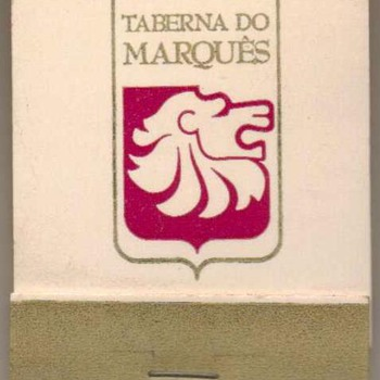 Taberna do Marques (Brazil) - Matchbook - Advertising