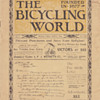 The Bicycling World founded in 1877