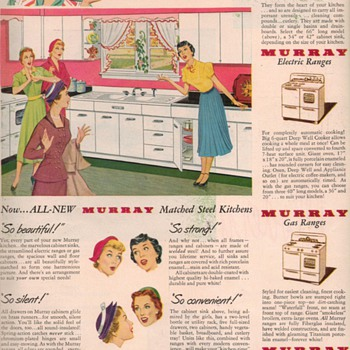 1950 Murray Kitchens Advertisement - Advertising