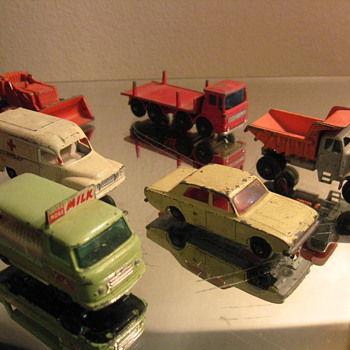 VINTAGE 1960S MATCHBOX SERIES BY LESNEY MADE IN ENGLAND - Model Cars