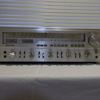 1978 Rotel rx 1603 - Radios