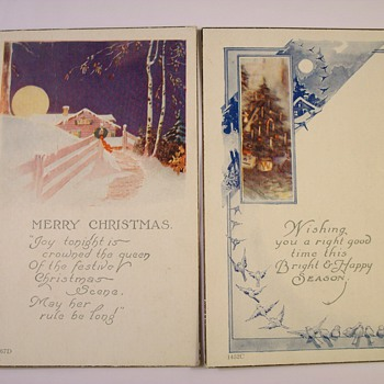 "The ""Original"" Christmas Cards 1897-1917 - Postcards"