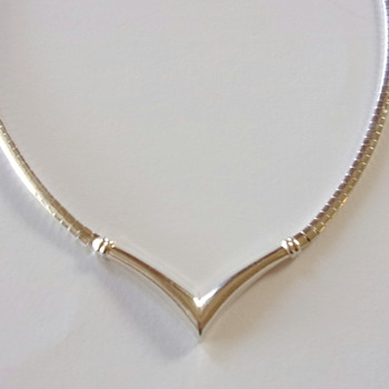 Vintage Silver Necklace - Fine Jewelry