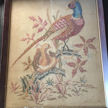 Antique Needlepoint unknown age or style