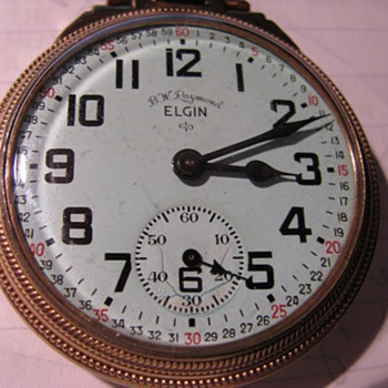 Elgin Watch - Pocket Watches