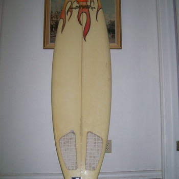 Vintage  Russell Surf Board