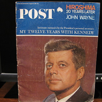 J.F.K. Post August 14, 1965