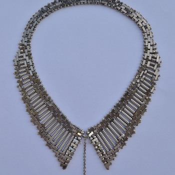 1930's Machine Age Jakob Bengel Necklace