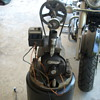 antique air compressor