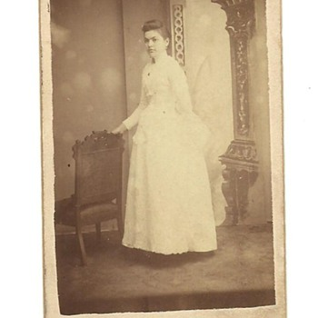 CDV of Louvina (Mitchell) Call - Photographs