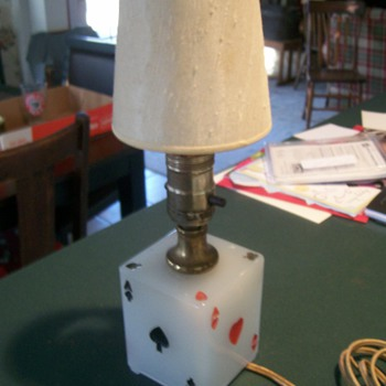 """Aces"" Table/Bar Lamp"