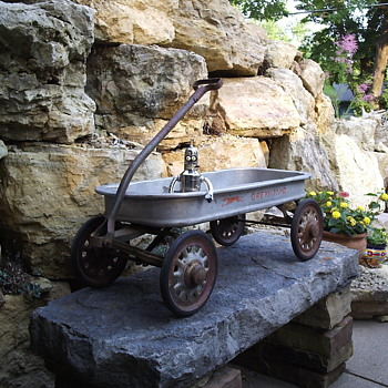 Unrestored Aluminum Body Greyhound Wagon