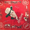 1953 coca cola kit carson kerchief with original card